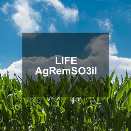 LIFE AgRemSO3il: a pilot project, at farm scale, that intends to develop and tune a new technology, with its associated techniques, for agrochemical remediation of farm soils by combining solarization and ozonation in situ.